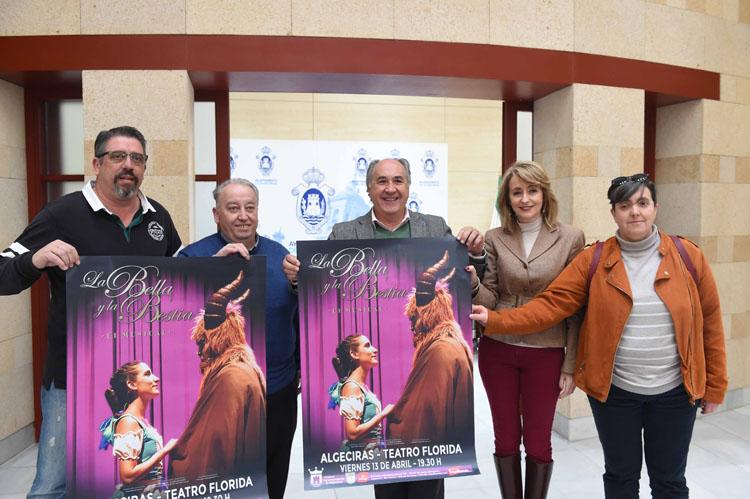 RUEDA DE PRENSA PRESENTACIÓN ESPECTACULO LA BELLA Y LA BESTIA1