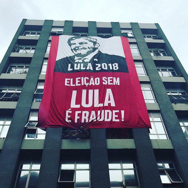 Movimientos populares afirman que elecciones presidenciales sin la candidatura del ex presidente Lula serían un fraude  - Créditos: Alexandre Padilha