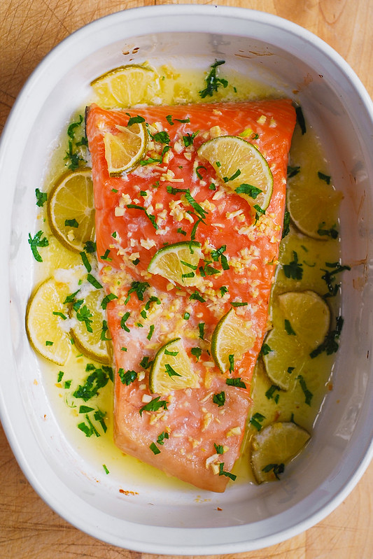 how do you bake salmon in the oven