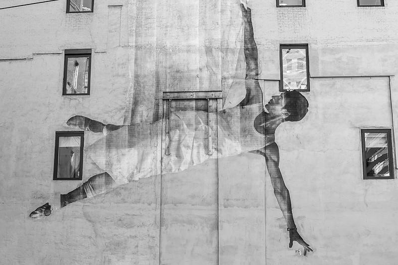 Walk In New York - Manhattan - Street Art - JR (1)