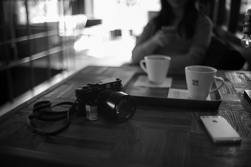 Coffee and Leica