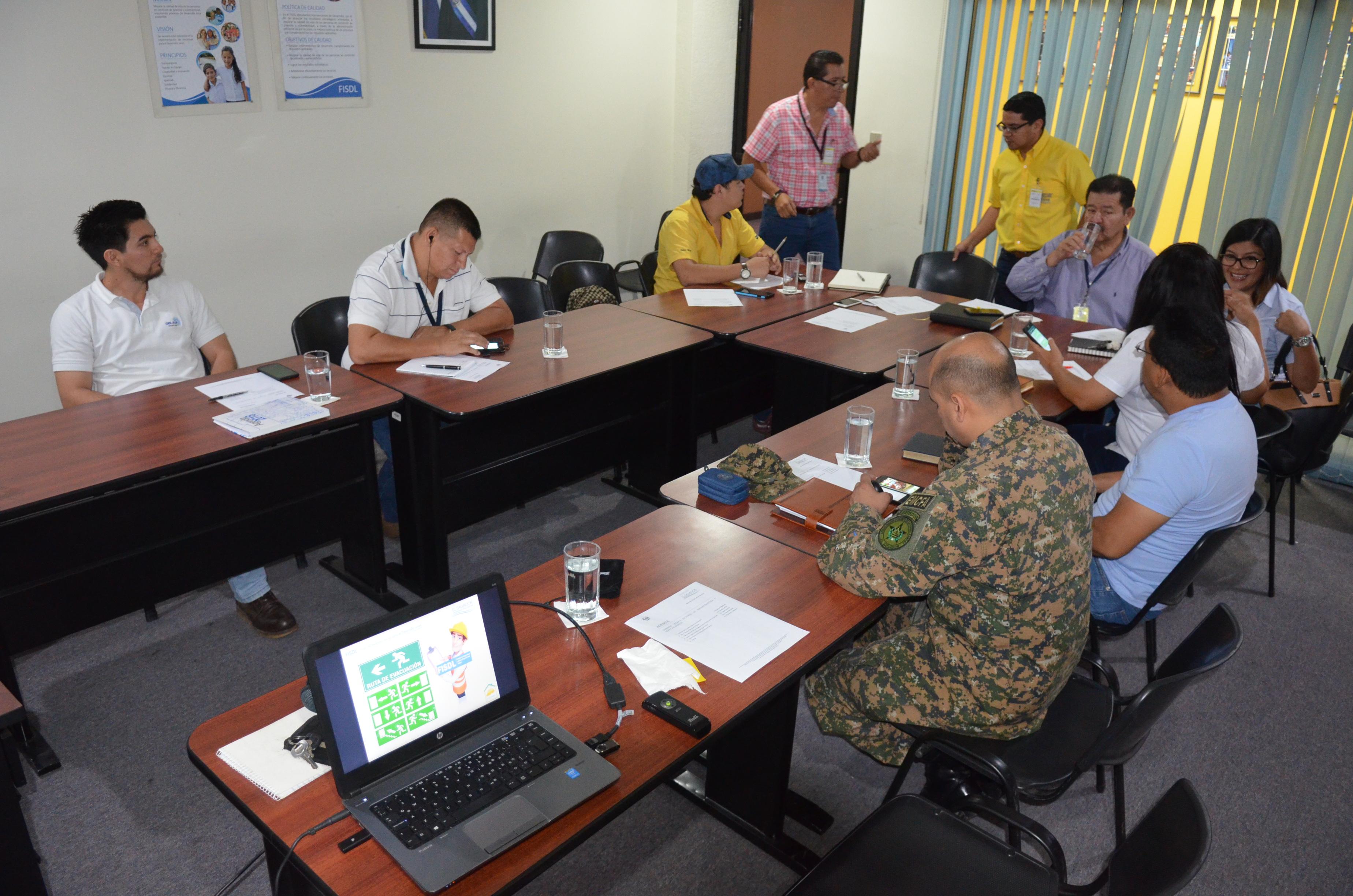 20180228 Reunión Comisión Técnica Sectorial de Infraestructura y Servicios Básicos FISDL