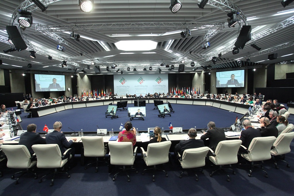 Meeting of the chairpersons of the Conference of parliamentary committees for Union affairs of the EU parliaments (COSAC)