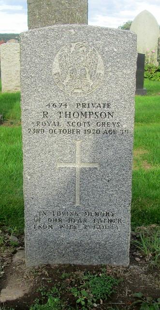War Grave in Leslie Cemetery