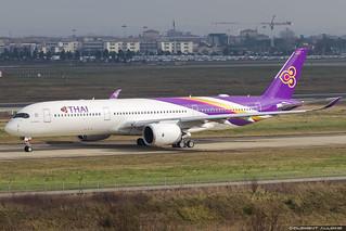 Thai Airways International Airbus A350-941 cn 185 F-WWIW // HS-THL