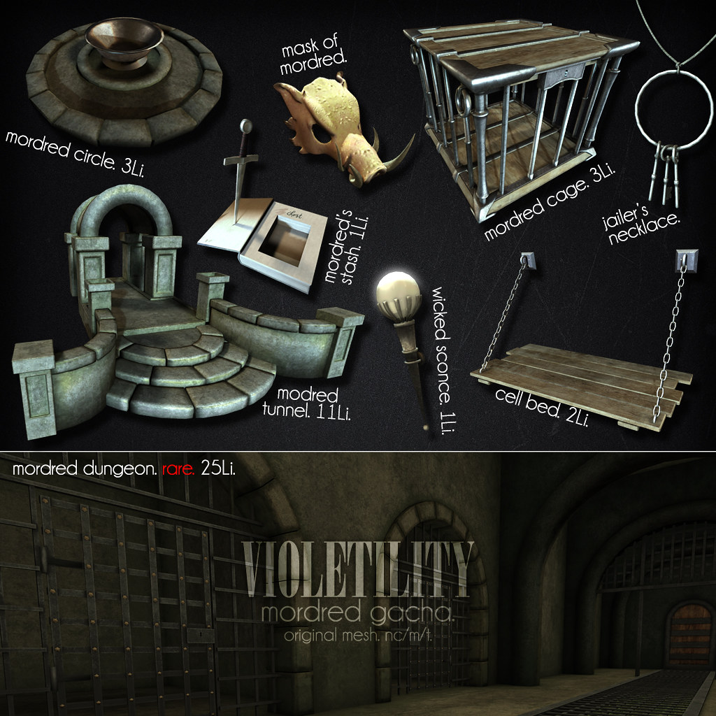 Violetility's Mordred Gacha - TeleportHub.com Live!