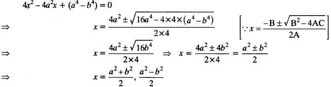 Quadratic Equations Chapter Wise Important Questions Class 10 Mathematics 31