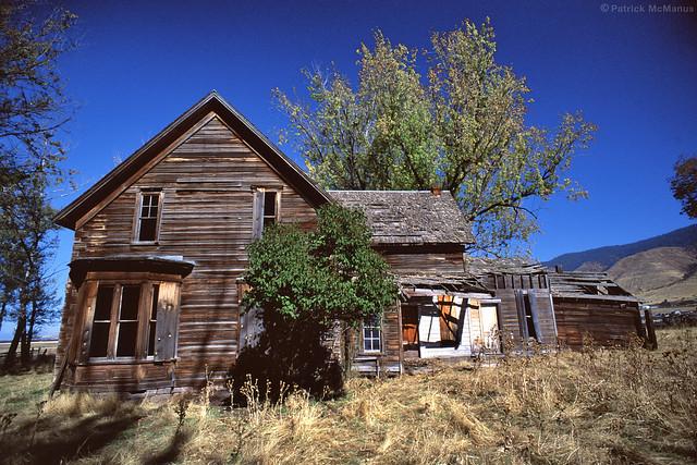Abandoned - Homestead - Eastern Oregon