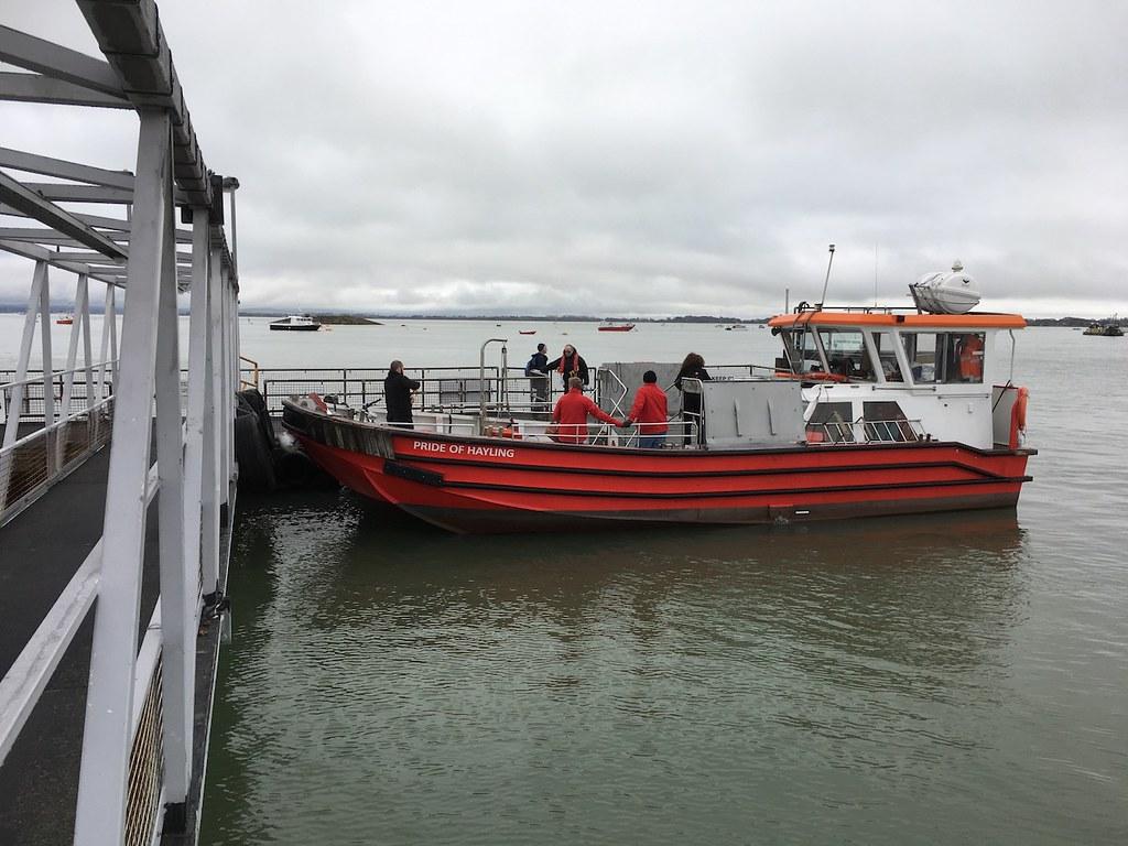 The Hayling Island ferry Portsmouth to Hayling Island walk