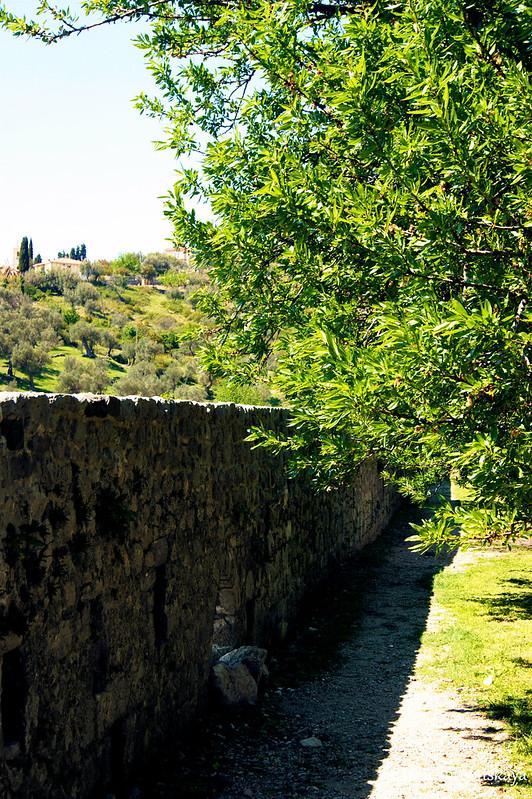 Крепостная стена в нижней части Старого Бара