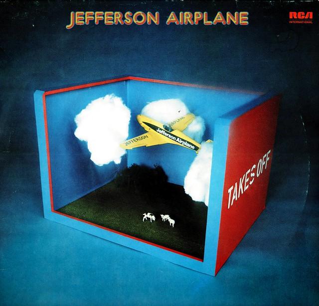 Jefferson Airplane - Takes Off - D - 1966-ReRel 1971