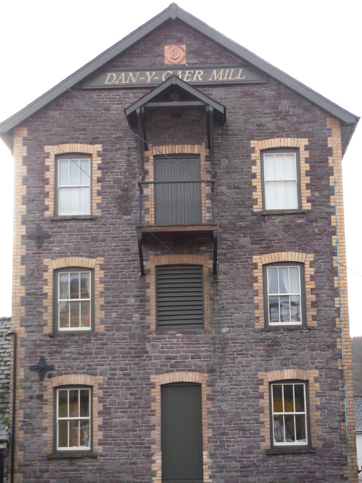 Dan-Y-Gaer Mill SWC Walk 306 - Brecon Circular (via Y Gaer, Battle and Pen-y-crug)