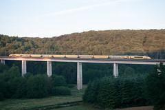 Train 6992 sur le viaduc de Tintry - Photo of Antully