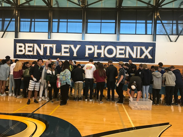 Bentley School Service Day 2/8/2018