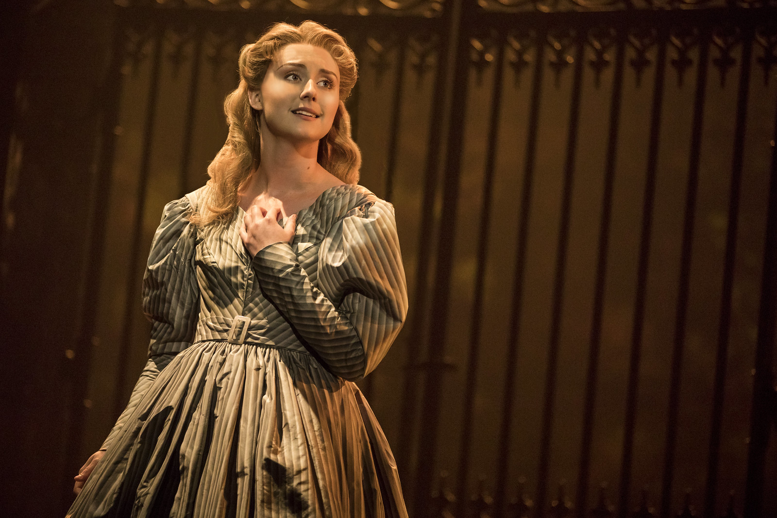 Jillian Butler as Cosette in the new national tour of Les Miserables (photo: Matthew Murphy) // Broadway in Detroit: Les Miserables At The Fisher Theatre - Wading in Big Shoes