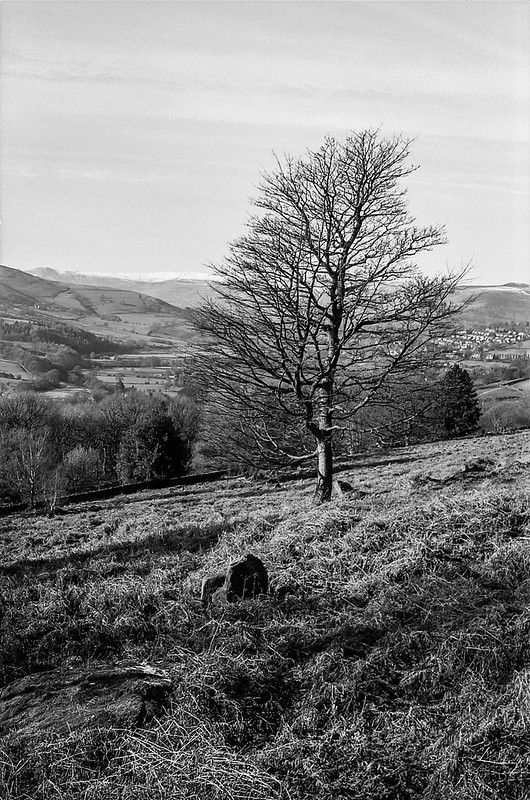 Film - Over towards Hathersage