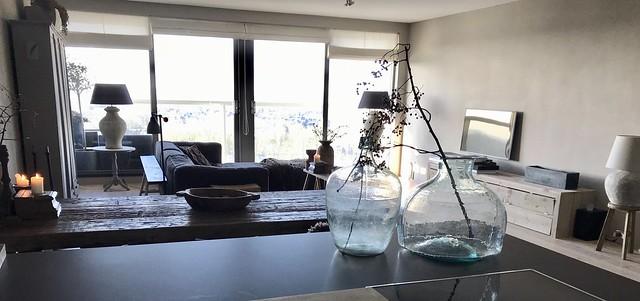 Landelijk ingericht appartement