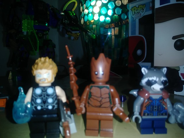 Thor groot and rocket