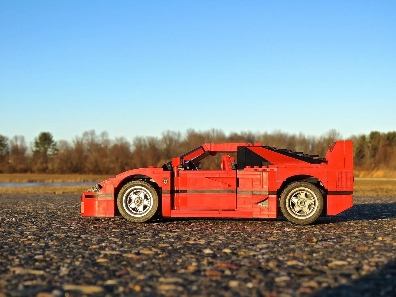 Lego Ferrari F40 2