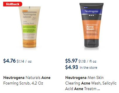 graphic regarding Printable Neutrogena Coupon named Significant Significance Neutrogena coupon: Accurately $1.72 at Walmart + Even more Promotions