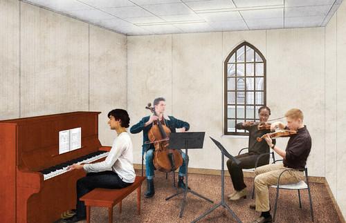 Bronson Music Room