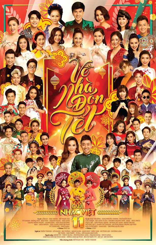 Gala Nhạc Việt 11 - Về Nhà Đón Tết (2018)