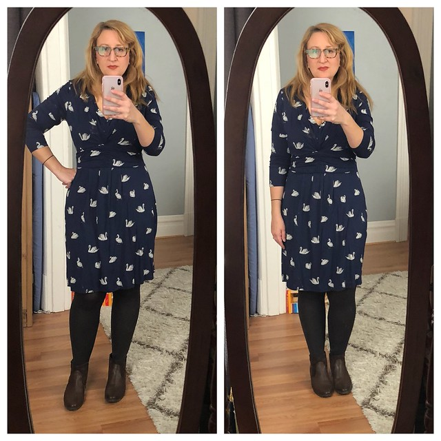 958c8af692e Consume or Consumed: Boden's Marion Tunic Swans OOTD