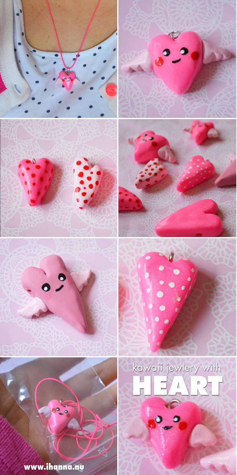 Kawaii Hearts made by iHanna