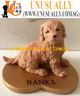 Fully Customized 3D Pet Dog Figurine - © www.unusually.com.sg