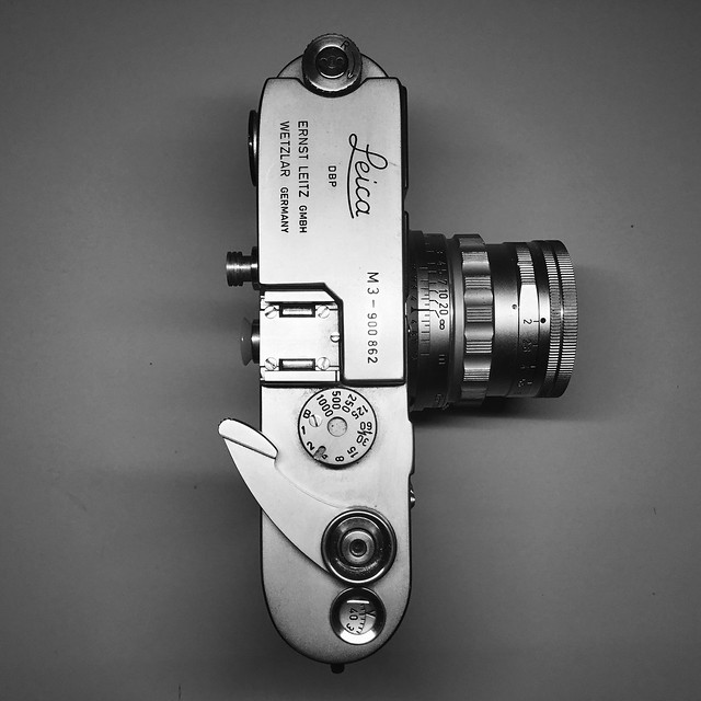 Leica M3 (1957) with summicron 50mmf2 (1957)