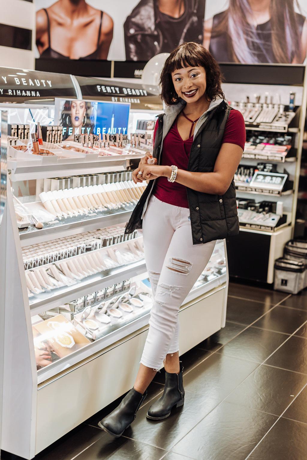 how to style fenty beauty lipstick