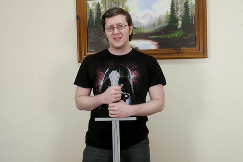 Life sized bastard sword