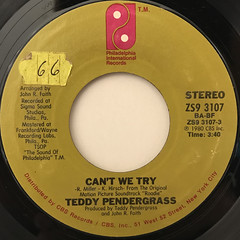 TEDDY PENDERGRASS:CAN WE TRY(LABEL SIDE-A)