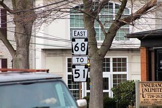PA 68 east, To PA 51 - Beaver, PA
