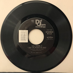 L.L. COOL J:I CAN GIVE YOU MORE(RECORD SIDE-B)
