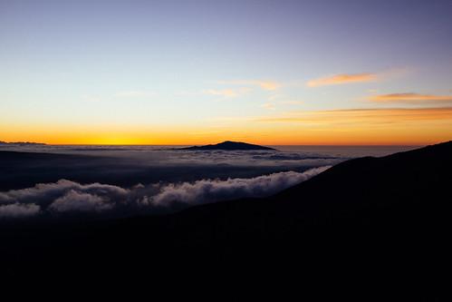 "Image titled ""Sunset, Mauna Kea."""