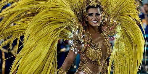 TOPSHOTS-TOPSHOT-BRAZIL-CARNIVAL-RIO-PARADE-UNIAO DA ILHA