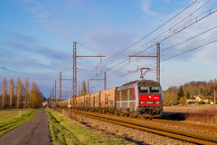 10 février 2018  BB 26227  Train 50043 Valenton -> St Jory  Chalais (16)