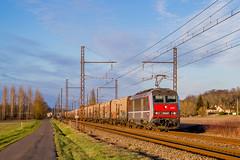 10 février 2018  BB 26227  Train 50043 Valenton -> St Jory  Chalais (16) - Photo of Rioux-Martin