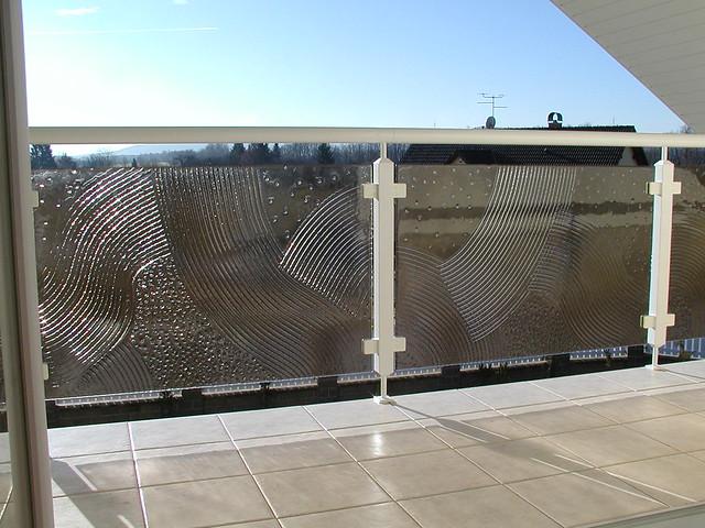 lehané sklo zábradlí