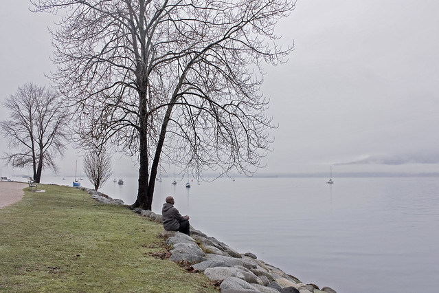 Week 152 of chemo complete: Quiet reflection by the water