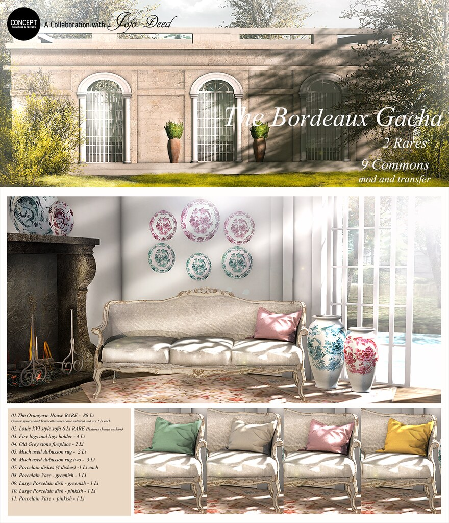 The Bordeaux Collection