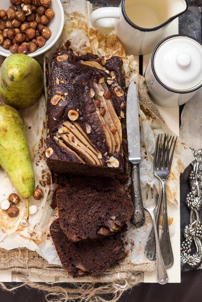 Double Chocolate Pear Cake