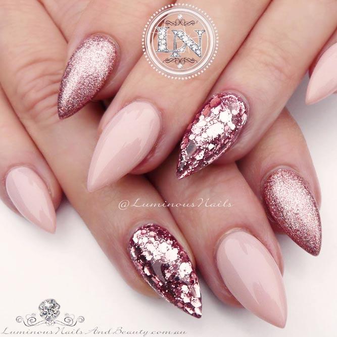 Pink Nails Designs - Charming And Elegant Pink Nails Designs - Nails C