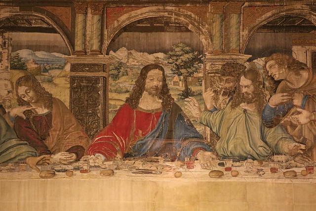 Pieter van Aelst, Arazzo dell'Ultima Cena tratto dall'opera di Leonardo da Vinci (1452-1519) - Musei Vaticani