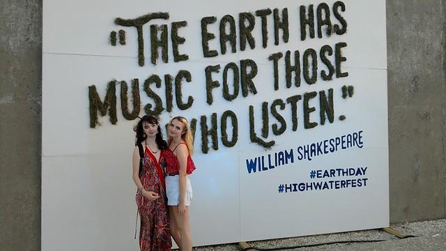 Custom Sign for High Water Festival