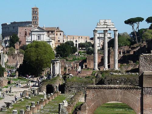 Řím – 10krát z Věčného města: Forum Romanum (10. díl)