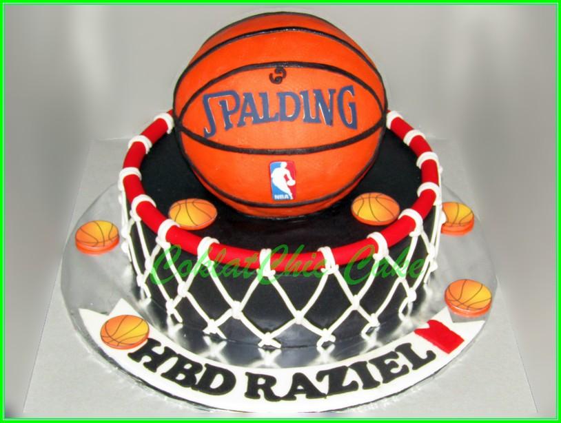 Cake Basketball RAZIEL 24 cm & 15 cm