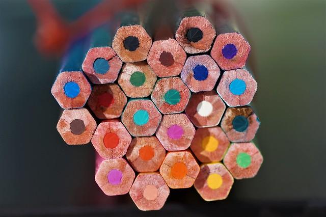 Rainbow Honeycombs