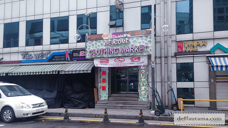 5 hari di Seoul - Younghwa Clothing Market